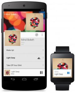 android-wear-music control